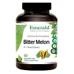Bitter Melon Fruit Extract, 1000mg, 60 caps - Emerald Labs