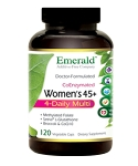 High Potency Women's 45+ Multi Vit-A-Min, 120 caps - Emerald Labs