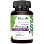 High Potency Prenatal Multi Vitamin, 4-daily, 120 caps - Emerald Labs