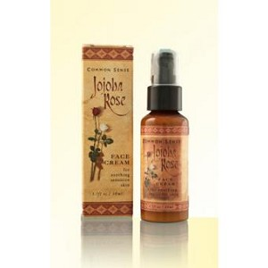 Jojoba Rose Delicate Face Cream, 1.7 fl oz - Common Sense Farm