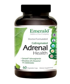Adrenal Health, 60 caps - Emerald Labs