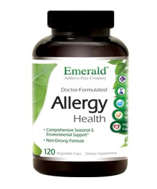 Allergy Health, 120 caps - Emerald Labs