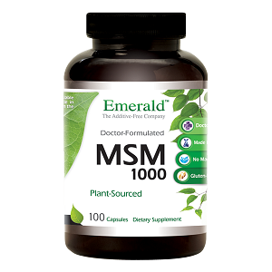 MSM 1000 - 1000 mg, 100 caps - Emerald Labs