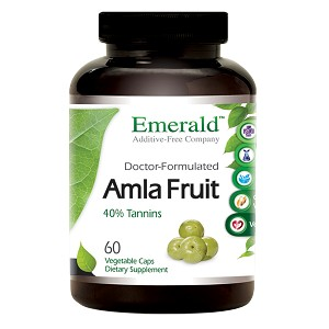 Amla Fruit Extract, 1000mg, 60 caps - Emerald Labs