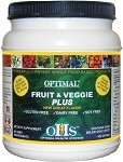 Fruit & Veggie Plus, 30 servings (single jar) - Optimal Health Systems  Buy 4 get 1 FREE!