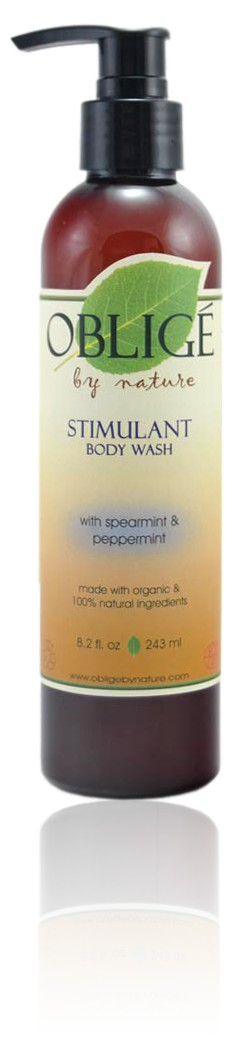 Stimulant Body Wash, 8oz - Oblige by Nature