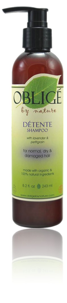 Detente Shampoo, 8oz - Oblige by Nature