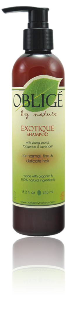 Exotique Shampoo, 8oz - Oblige by Nature
