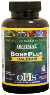 Optimal BonePlus Calcium, 90 caps - Optimal Health Systems