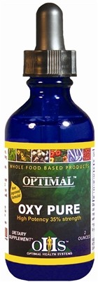 Oxy-Pure, 2 oz. bottle - Optimal Health Systems