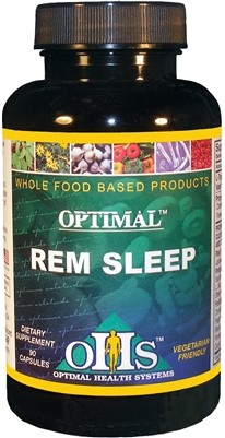 Optimal REM Sleep, 90 caps - Optimal Health Systems