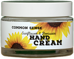 Sunflower & Beeswax Hand Lotion, 1.7oz - Common Sense Soap