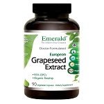 Grape Seed Standardized Extract Antioxidant, 150 mg, 90 caps - Emerald Labs