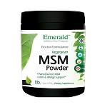 MSM Powder, 2 lb - Emerald Labs