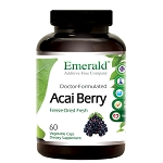 Acai Berry, 1000 mg, 60 caps - Emerald Labs