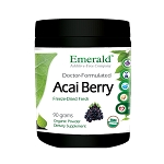 Acai Berry Powder, 2000 mg - Emerald Labs