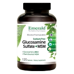 Glucosamine MSM 1500/1600 mg, 120 caps - Emerald Labs
