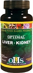 Optimal Liver Kidney, 90 caps - Optimal Health Systems