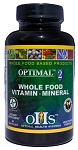Optimal 2 Whole Food Vitamin Mineral, 90 caps, Optimal Health Systems