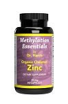 Zinc, Organic Chelated, 90 caps - Optimal Health Systems