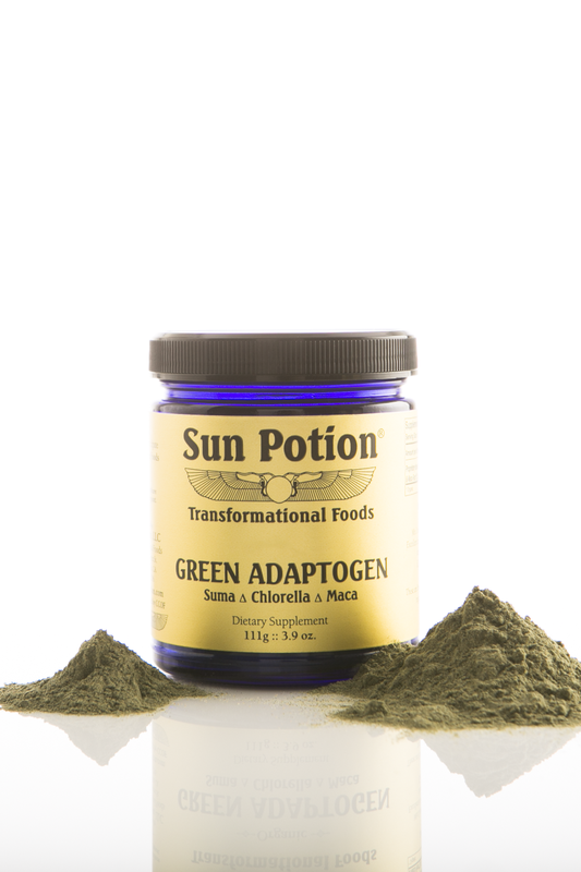 Green Adaptogen Powder,  3.9oz - Sun Potion