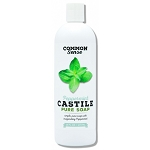 Peppermint Castile, 16oz, Set of 2 - Common Sense Soap