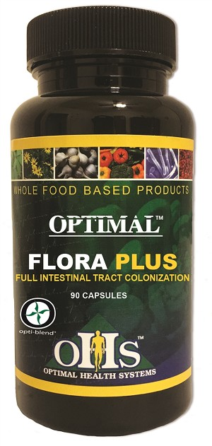 Optimal Flora Plus, 90 caps - Optimal Health Systems ~ March Special 20% Off ~