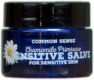 Sensitive Herbal Skin Salve, .5oz - Common Sense Soap