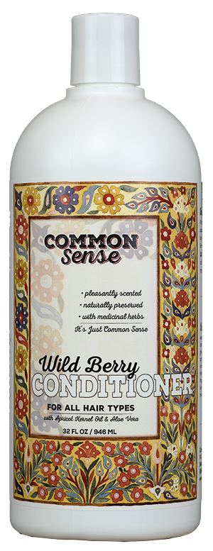 Wild Berry Conditioner, 32oz - Common Sense Soap