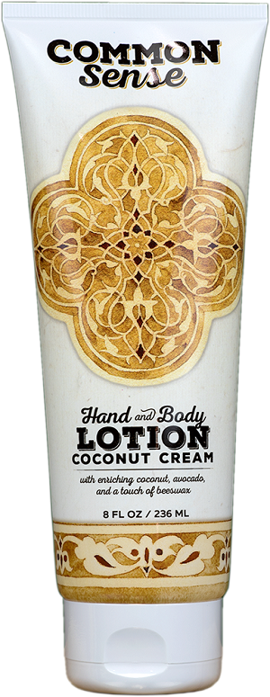 Creamy Coconut Hand & Body Lotion, 8oz - Common Sense Soap