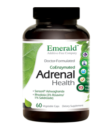Adrenal Health, 120 caps - Emerald Labs