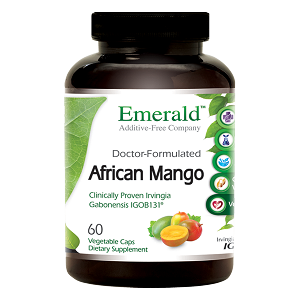 African Mango, 150mg, 60 caps - Emerald Labs