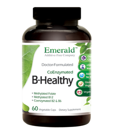B-Healthy! - B Vitamin Complex, 60 caps - Emerald Labs