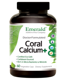 Coral Calcium Plus, 120 caps - Emerald Labs
