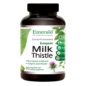 Milk Thistle Standardized Extract - 175 mg, 90 caps - Emerald Labs