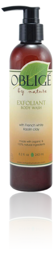 Exfoliant Body Wash, 8oz - Oblige by Nature