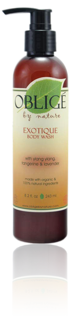 Exotique Body Wash, 8oz - Oblige by Nature