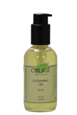 Gel Cleanser Purifying - Blemish, 4oz Oblige by Nature