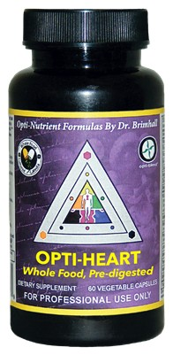 Opti Heart, 60 caps - Optimal Health Systems ~ October Special 20% off