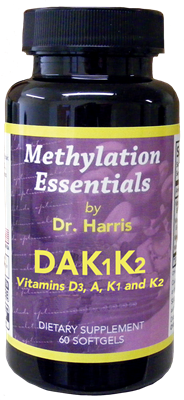Methylation Essential DAK1K2, 60 capsules - Optimal Health Systems