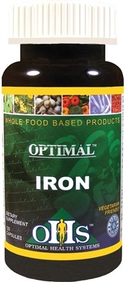 Optimal Iron, 120 caps - Optimal Health Systems