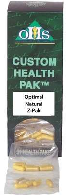 Natural Z Pak, 30 servings - Optimal Health Systems ~ August Special 20% off ~