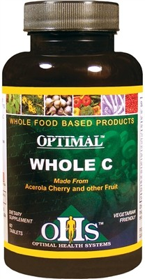 Optimal Whole C, 60 chewable tablets - Optimal Health Systems