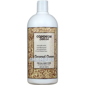 Creamy Coconut Shampoo, 32oz - Common Sense Soap