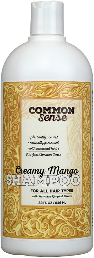 Creamy Mango Shampoo, 32oz - Common Sense Soap